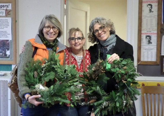 Wreath Making 2014